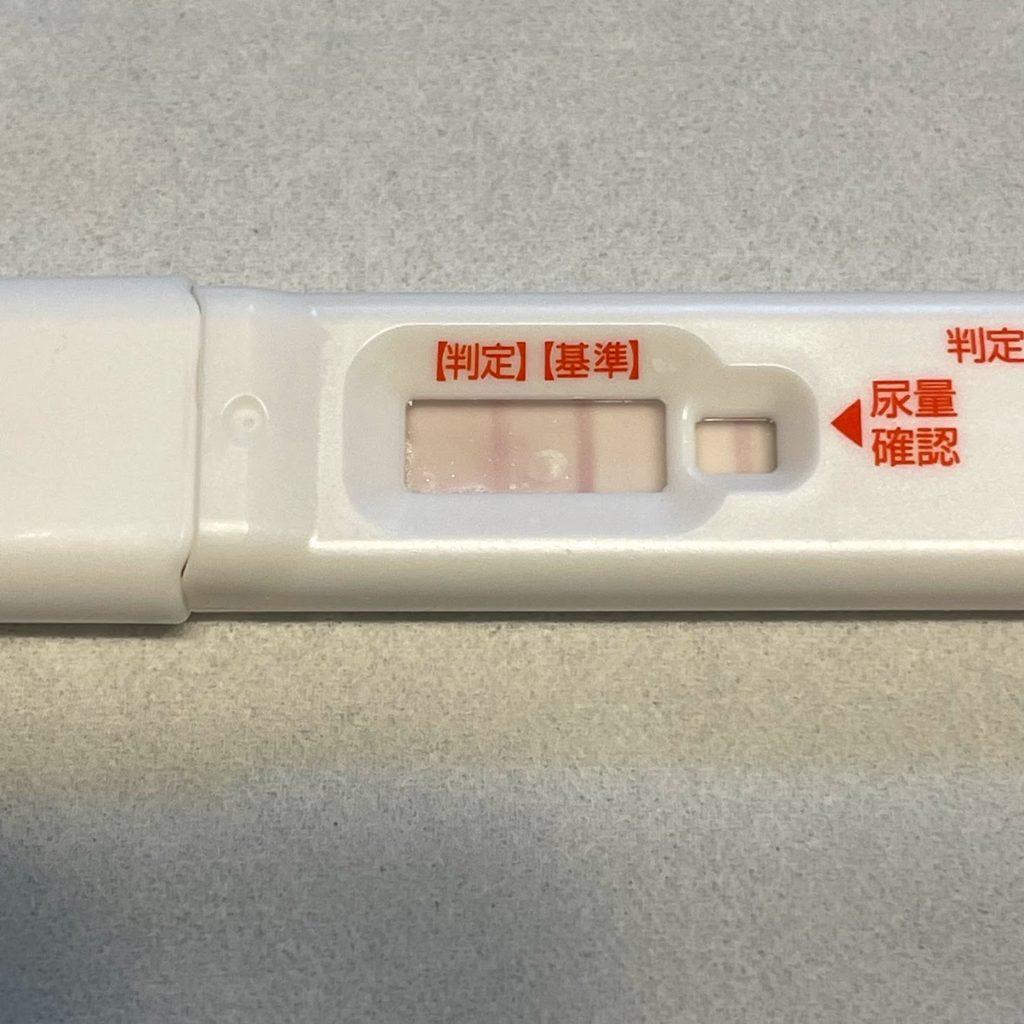 15日前の排卵検査薬(陰性)