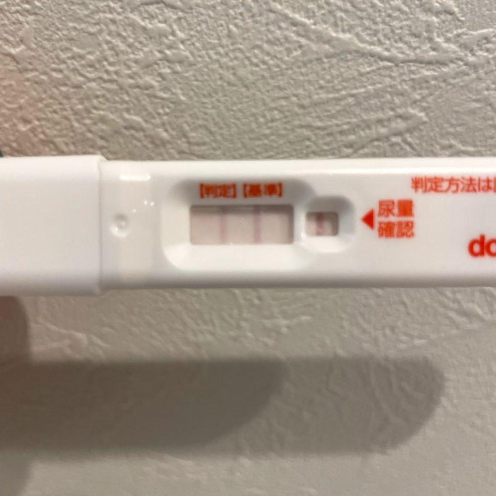 14日前の排卵検査薬(陽性)
